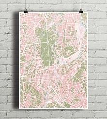Berlin - plakat kartograficzny