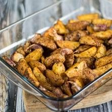 Paprykowe ziemniaki z pieka...