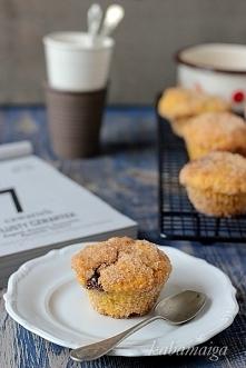 Pączkowe muffiny z nutellą