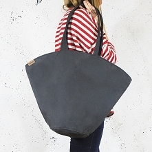 Shelly bag grafit torba nub...