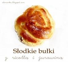 Słodkie bułki z ricottą i ż...