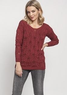 Ażurowy sweterek, SWE145 ma...