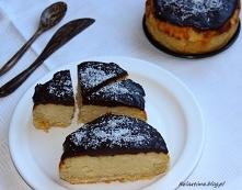 Sernikowe ciasto a'la Bounty