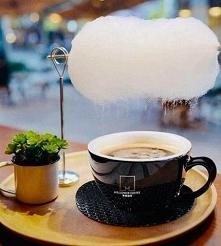 Kawa z chmurką.