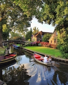 Giethoorn (Holandia), fot. ...
