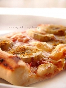 pizza z bananami