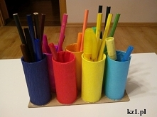 Co zrobić z rolek po papier...