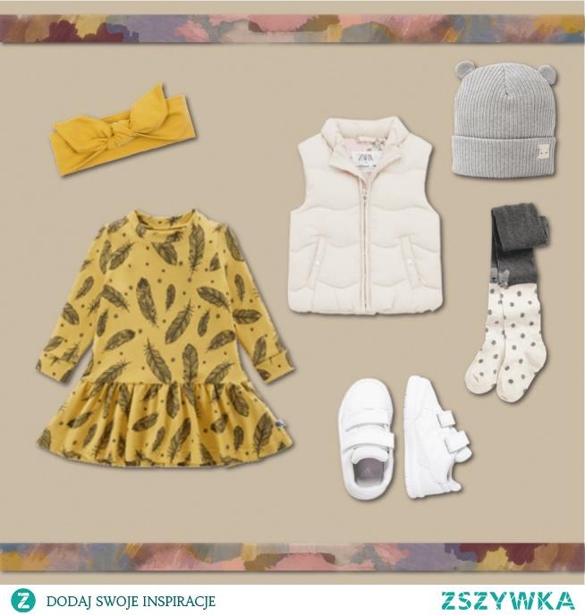 Na blogu zobaczyć można zestaw ubrań na jesień dla dziewczynki. Zaprezentowano również 8 jesiennych outfit'ów