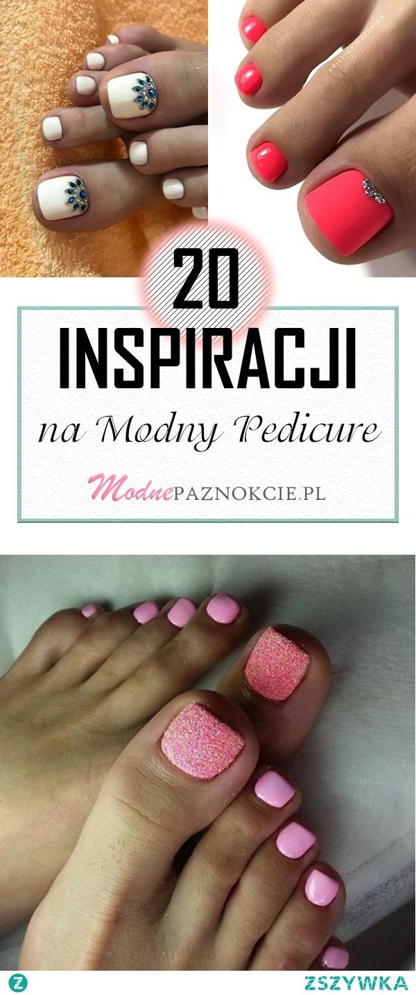 TOP 20 Niesamowitych Inspiracji na Modny Pedicure! Musicie Je Zobaczyć!
