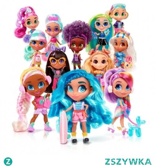Nowe wzory laleczek (26 do zebrania w kolekcji), których cechą charakterystyczną są długie, kolorowe włosy •Każda lalka posiada imię; dodatkowe informacje na temat poszczególnych Hairdorables można znaleźć w przewodniku kolekcjonera •W zestawie różne akcesoria, m.in. grzebyk, buty, naklejki, przewodnik kolekcjonera •Kolorowe pudełko stanowi część zabawki (otwiera się Jak szafa, w której są szufladki na różne akcesoria) •Nowość: Akcesoria zmieniają kolor pod wpływem zimnej wody! •Zaletą zabawki jest możliwość odkrywania, jaka lalka ukryta jest w pudełku poprzez otwieranie po kolei poszczególnych przegródek