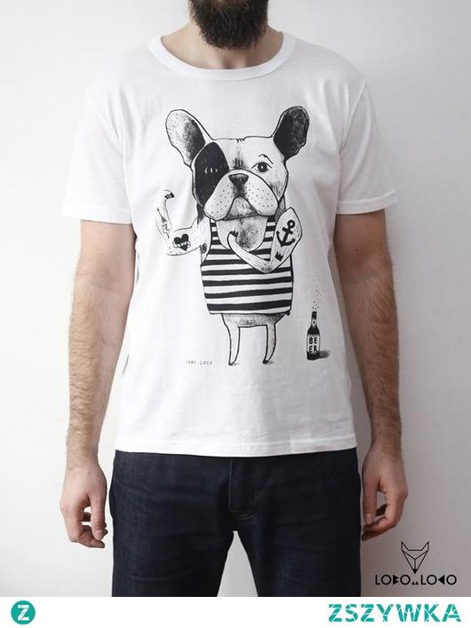 Koszulka z Buldogiem Francuskim