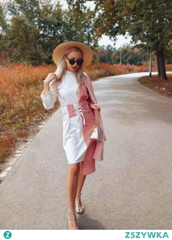 Sukienka asymetryczna Biznes Lady od Katekabush z 22 sierpnia - najlepsze stylizacje i ciuszki