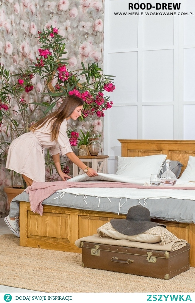 Urządź swoją sypialnie już u nas ! Stwórz ciepły i relaksacyjny kącik z naturalnymi meblami z litego drewna sosnowego !