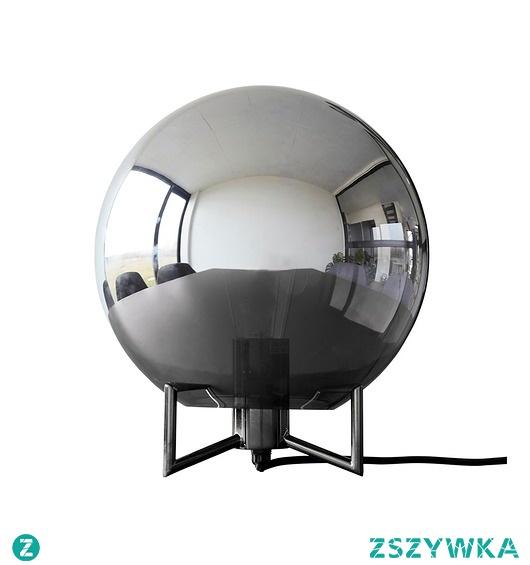 Lampa stołowa Globe czarna szkło 30cm