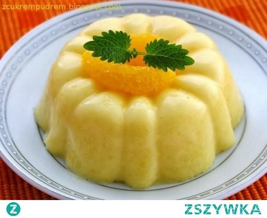 lekki deser mandarynkowy