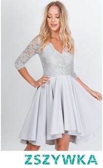 Sukienka koktajlowa na wesele przyjęcie bankiet