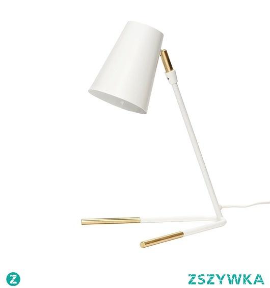 Lampa stołowa Dalia X biała złota 40cm