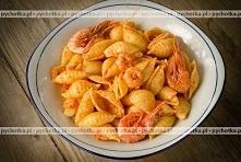 Makaron z krewetkami po chińsku