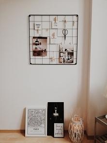 Organizer na ścianę Tablica na zdjęcia, plakaty i inne dekoracje  Zdjęcie: ko...