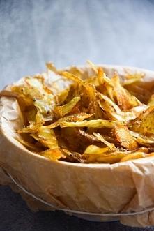 Zdrowe FIT chipsy z obierek...