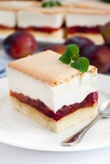 Ciasto śliwkowa kostka