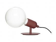 Lampa stołowa Marla czerwon...