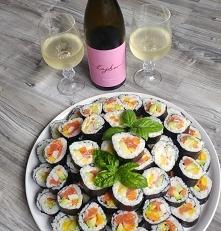 Wlasnej roboty sushi , mniam. Lubicie?