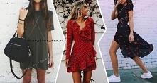 Modne sukienki na jesień za...