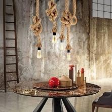 Lampa wisząca lina - 4FD.PL