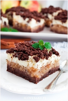 Kakaowe ciasto z budyniową ...