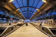Dworzec kolejowy w Lipsku j...