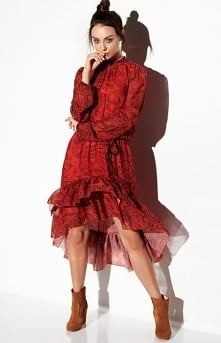 Lemoniade Wzorzysta sukienk...