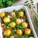 Wiejska zapiekanka z młodych ziemniaków #zapiekanka#kiełbasa