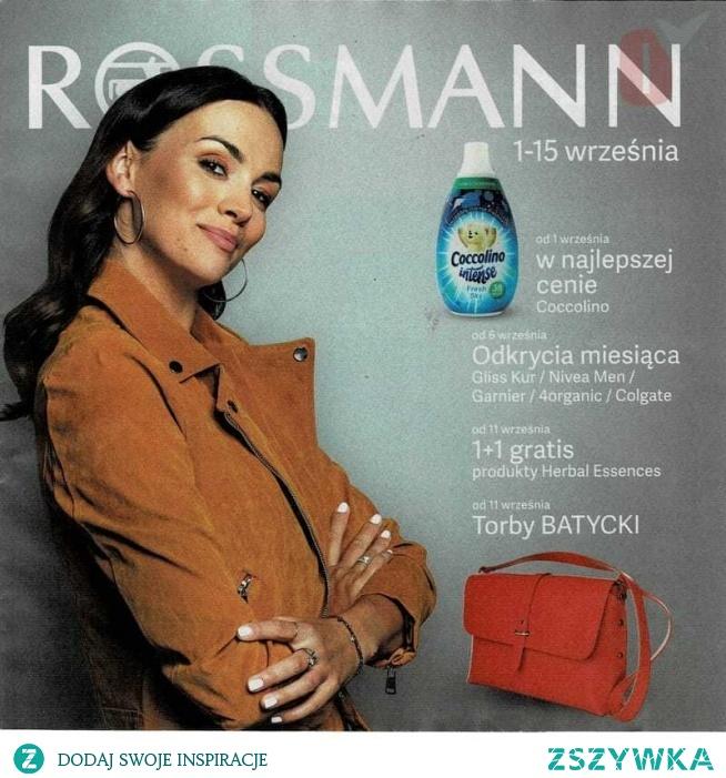 Rossmann aktualna od 1 września 2019 >>>