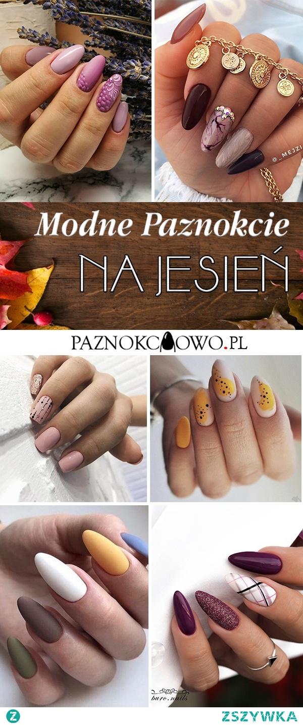 Modne Paznokcie na Jesień – TOP 24 Niesamowite Inspiracje na Manicure