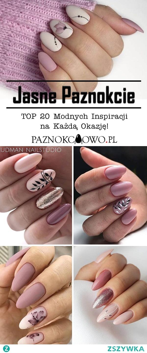 Jasne Paznokcie – TOP 20 Modnych Inspiracji na Każdą Okazję!