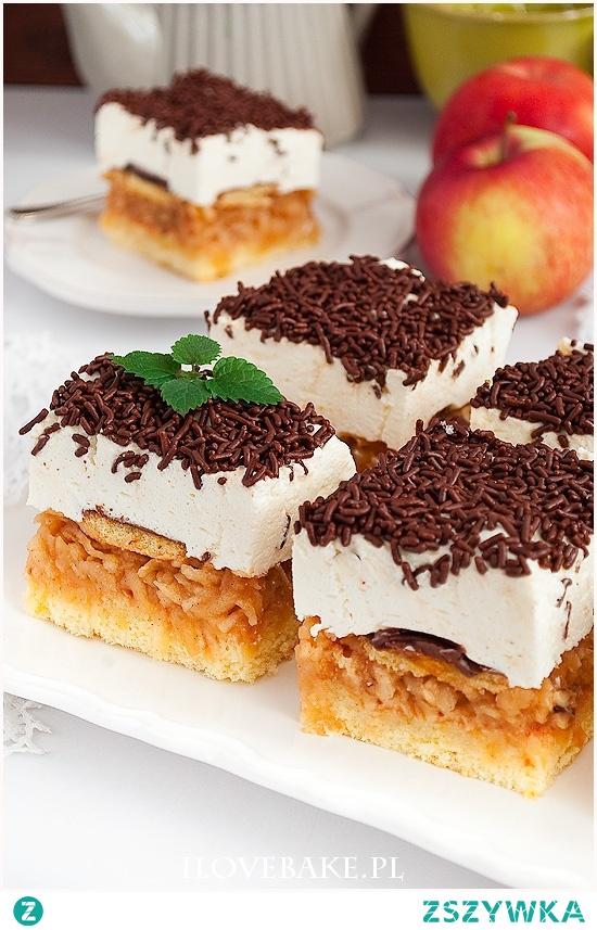 Ciasto jabłkowa delicja
