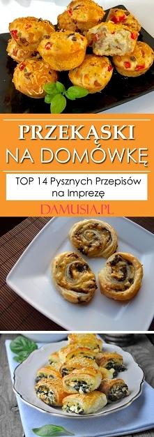 Przekąski na Domówkę – TOP ...