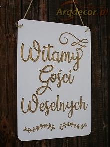 Tablica powitalna arqdecor.pl