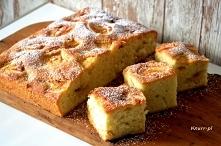 Szybkie ciasto z jabłkami P...