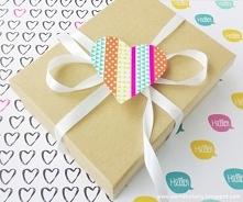 Papierowe serca na Walentyn...