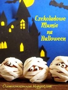 Czekoladowe Mumie czyli słodko-straszne babeczki na Halloween