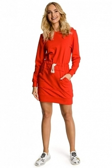 Sukienka dresowa :)
