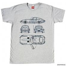 koszulka JAGUAR E-TYPE GRAY...