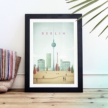 Berlin - vintage plakat 50x...