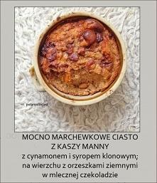 idealne ciasto marchewkowe ...