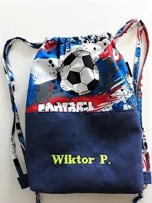 Worek/plecak w piłkę nożną+...