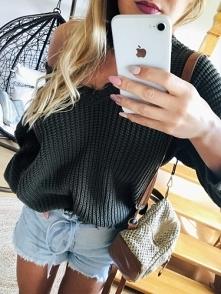Sweterek idealny na jesień!