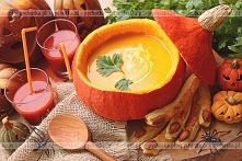 Zupa z dyni z porem