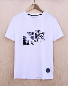 t-shirt PERSPECTIVE WHITE